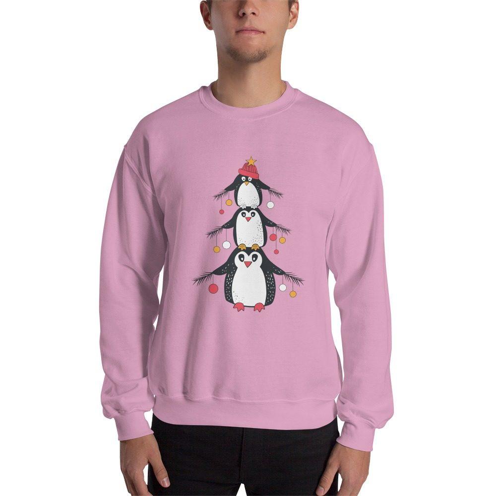 Penguin Christmas Tree Sweatshirt