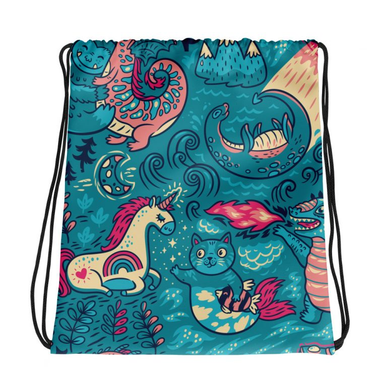 Magic Pattern Drawstring bag