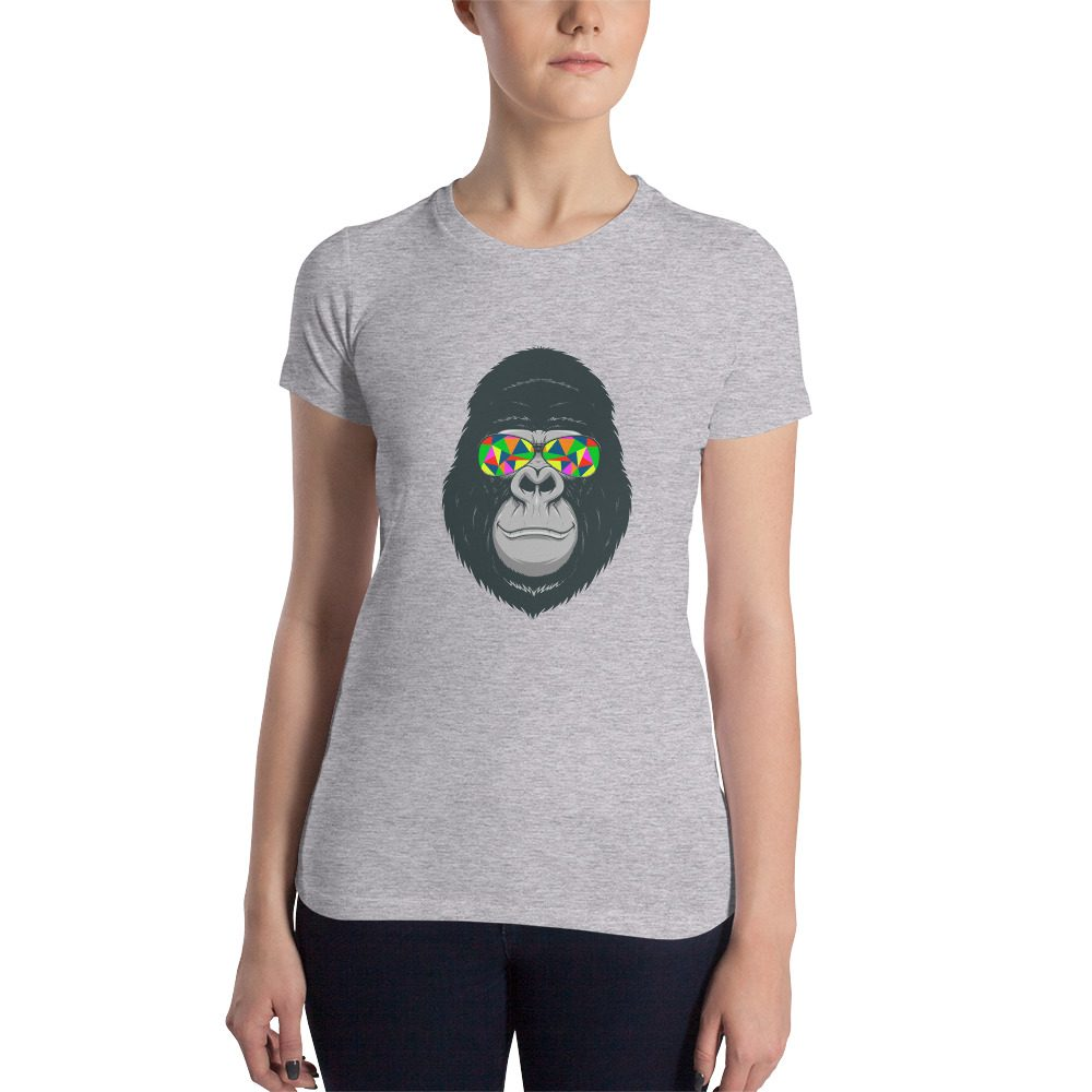 Cool Gorilla Women's Slim Fit T-Shirt