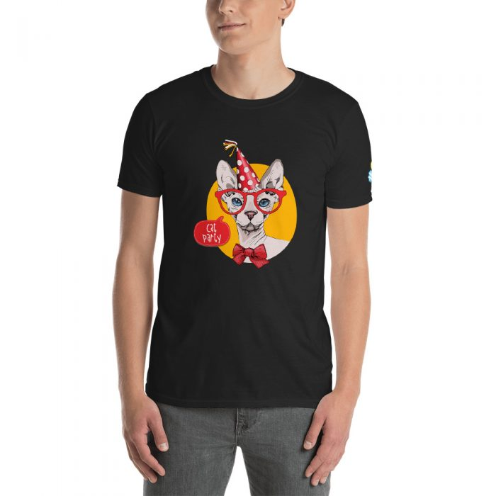 Cat Party Short-Sleeve Unisex T-Shirt
