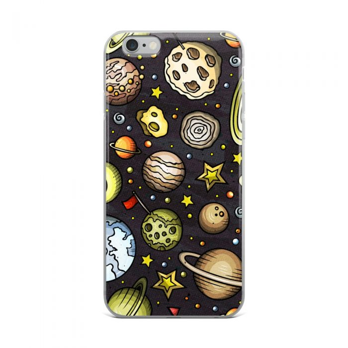 Planets Pattern iPhone Case