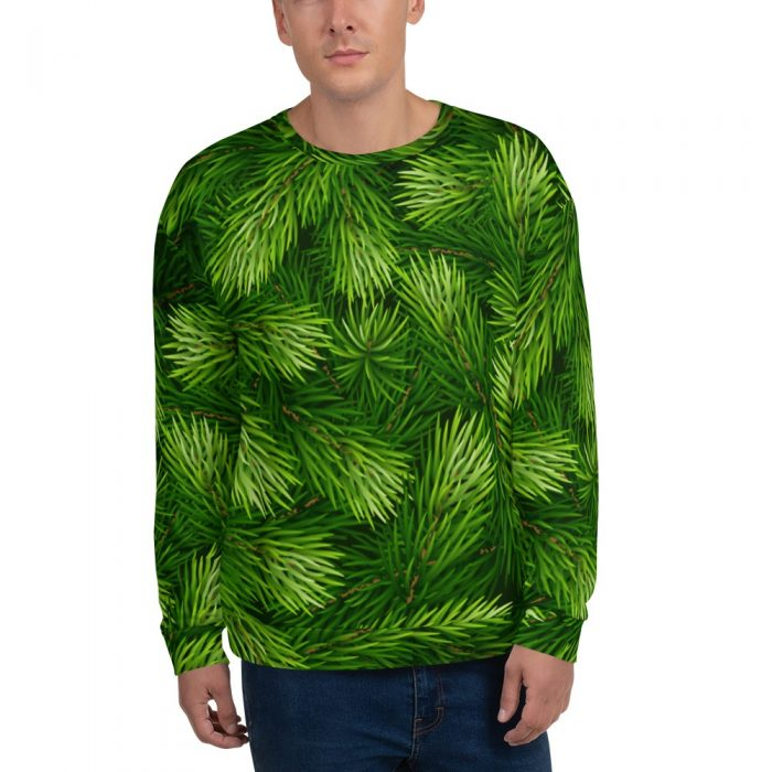 Christmas Tree Pattern Unisex Sweatshirt