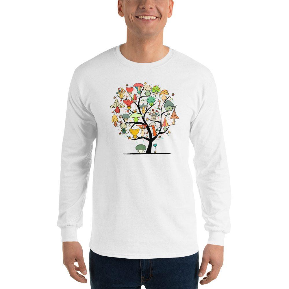 Mushroom Tree Long Sleeve T-Shirt