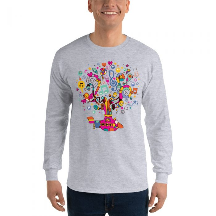 Magic Submarine Long Sleeve T-Shirt