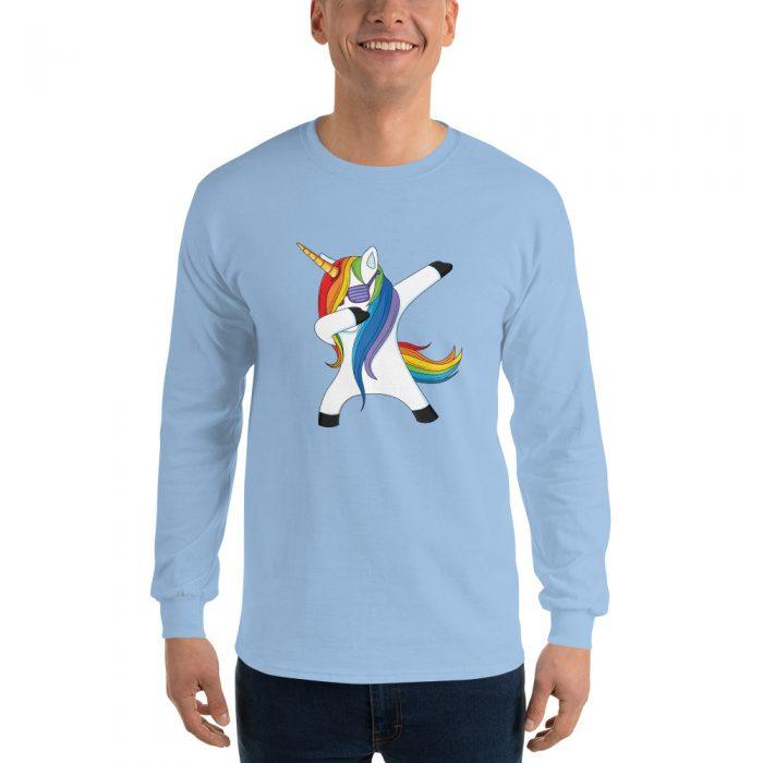 Dabbing Unicorn Long Sleeve T-Shirt