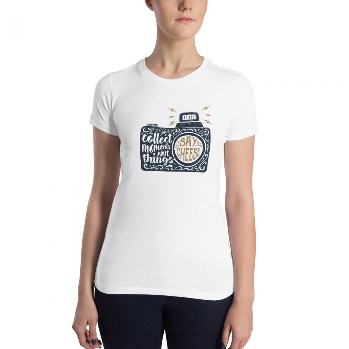 Collect Memories Women's Slim Fit T-Shirt