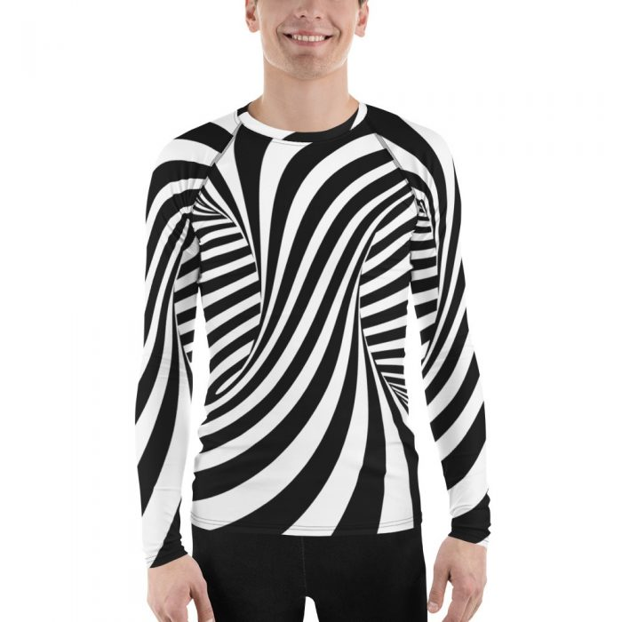Optical Illusion Men's Rash Guard