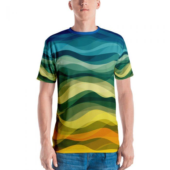 Color Waves Men's T-shirt