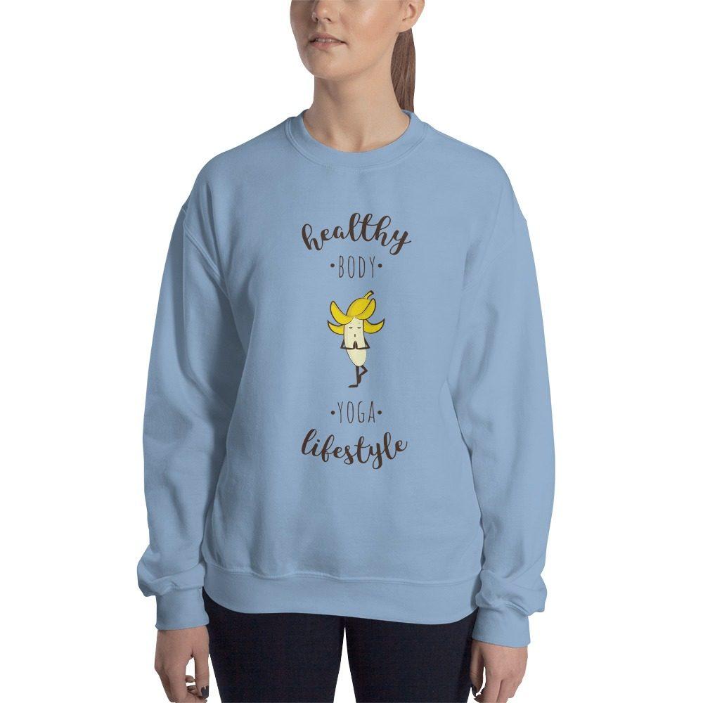Yoga Banana Vegan Sweatshirt