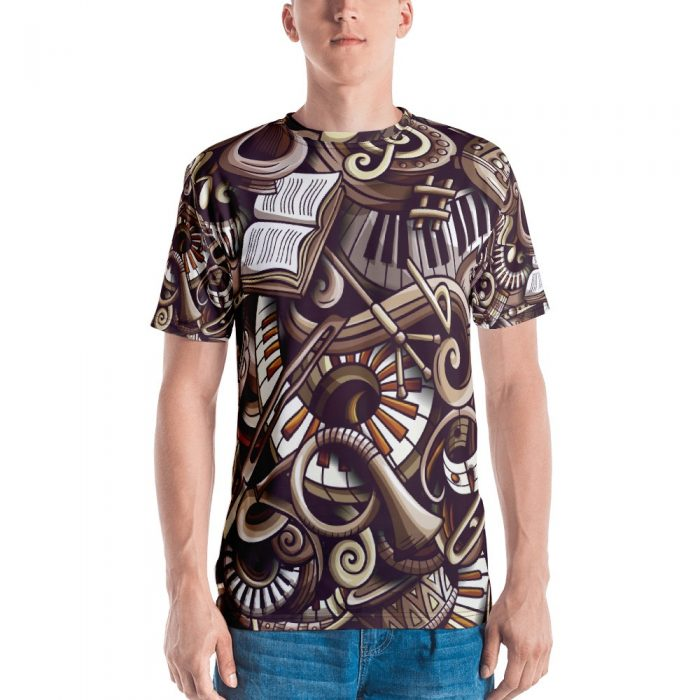 Music Pattern Men's T-shirt