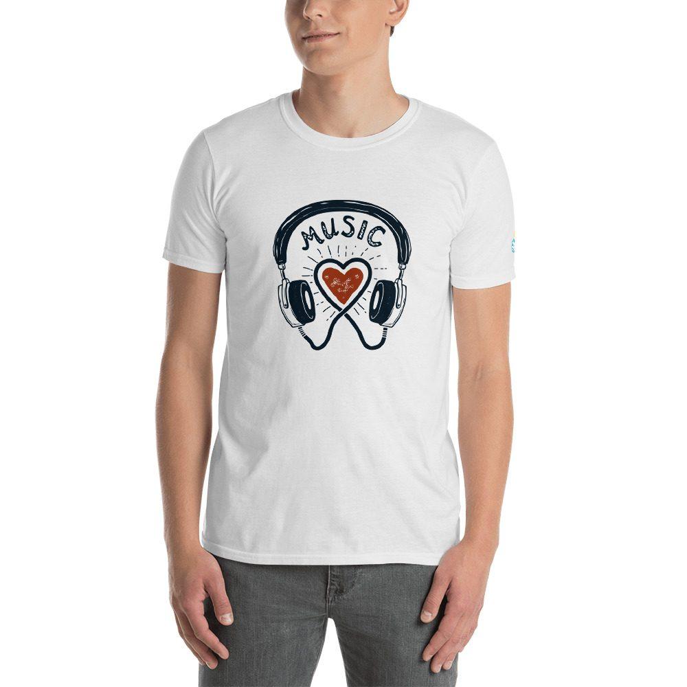 Music Love Short-Sleeve Unisex T-Shirt