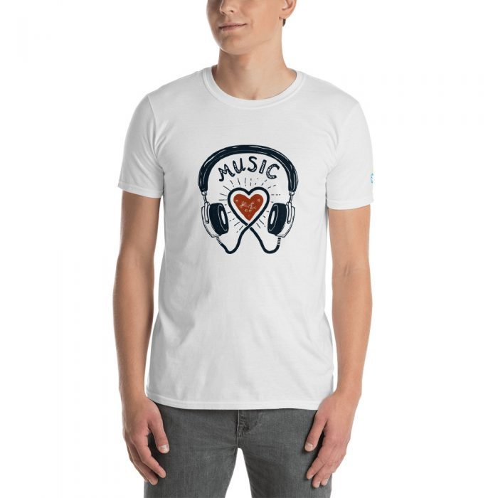 Music Love Short-Sleeve Unisex T-Shirt