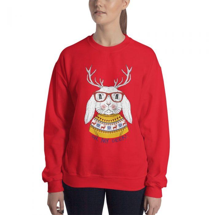 My Deer Christmas Bunny Sweatshirt