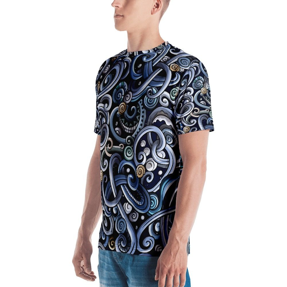 Ornament Pattern Men's T-shirt