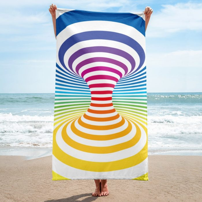 Optical Illusion Towel