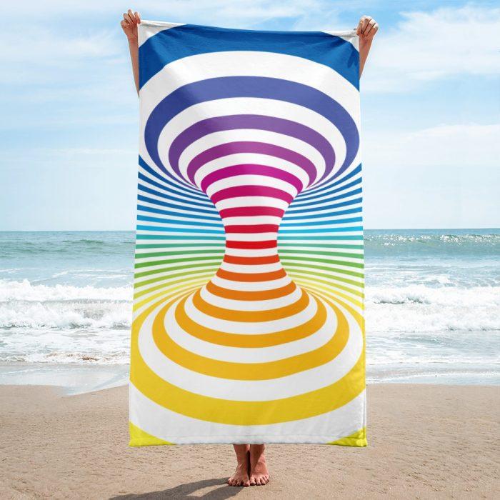 Optical Illusion Towel