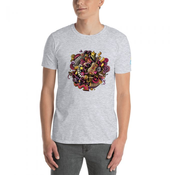 Music Doodles Short-Sleeve Unisex T-Shirt
