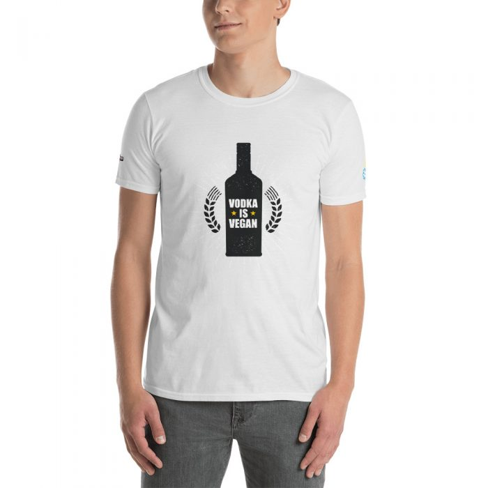 Vodka Is Vegan Short-Sleeve Unisex T-Shirt