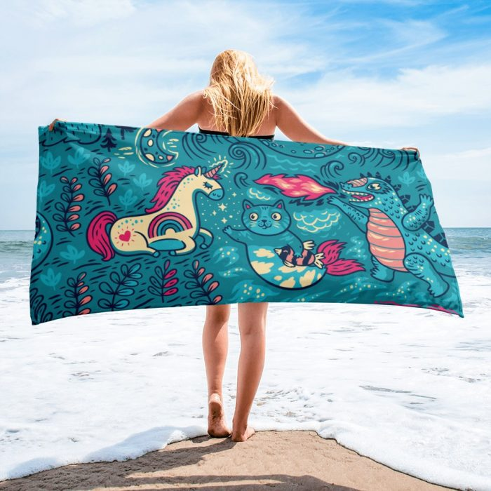Magic Pattern Towel