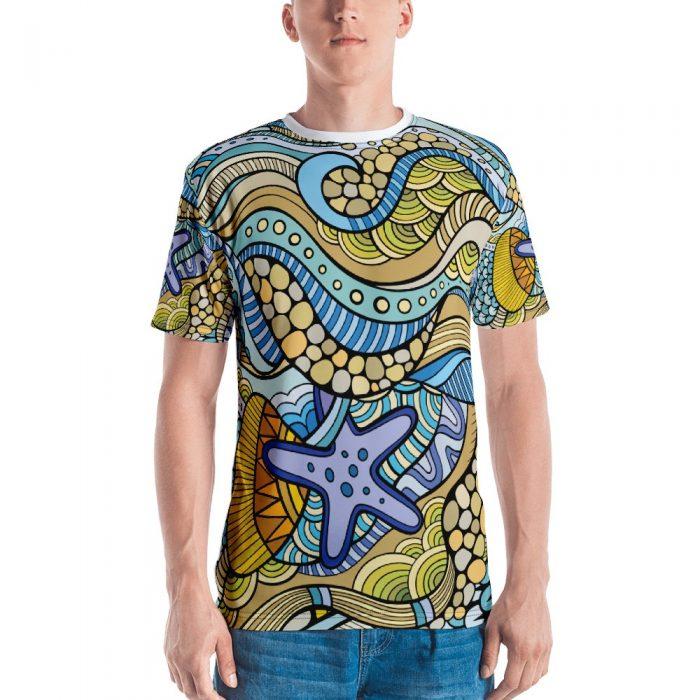 Underwater Pattern Men's T-shirt