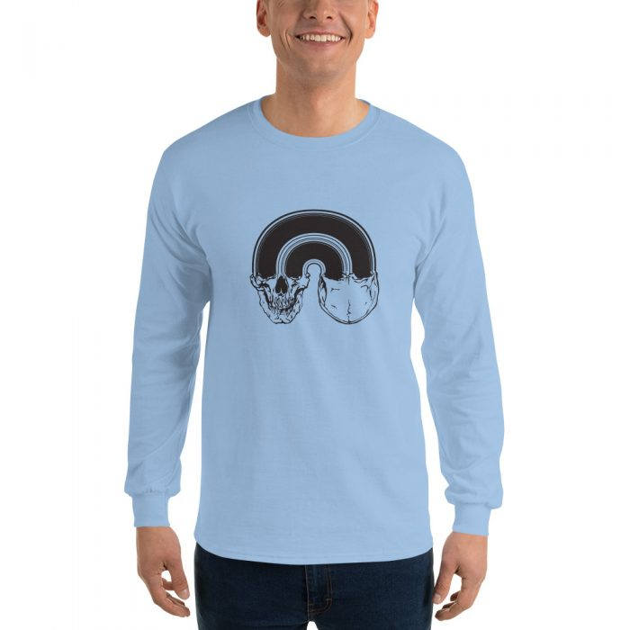 Skull Sign Long Sleeve T-Shirt