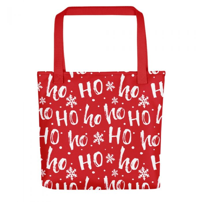Ho-ho-ho Christmas Pattern Tote bag