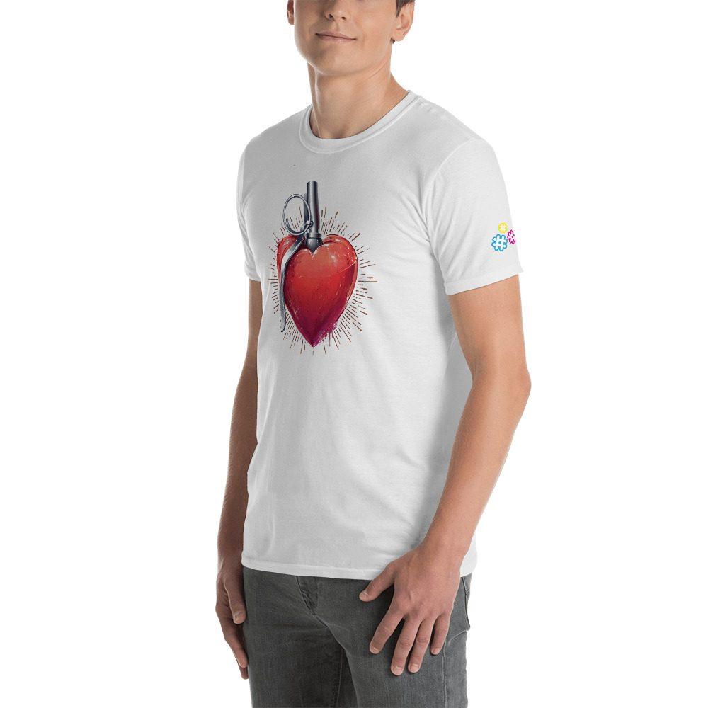 Explosive Heart Short-Sleeve Unisex T-Shirt