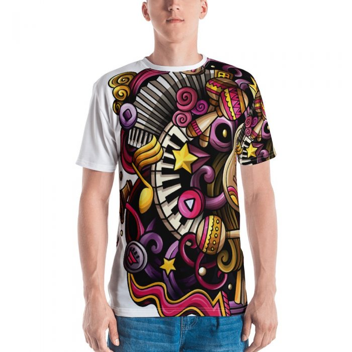 Music Pattern Men's T-shirt