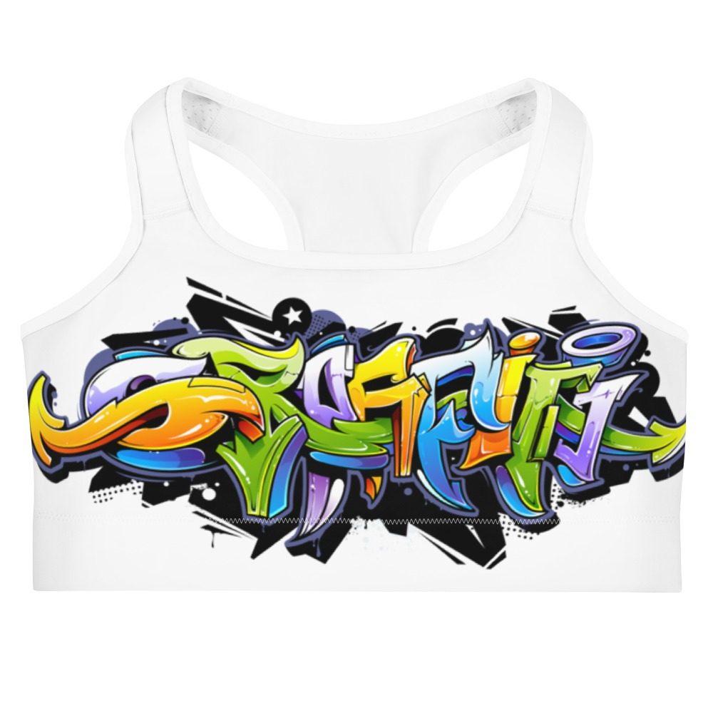 Graffiti Sports bra