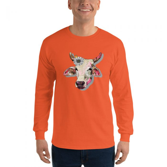 Hippie Cow Long Sleeve T-Shirt