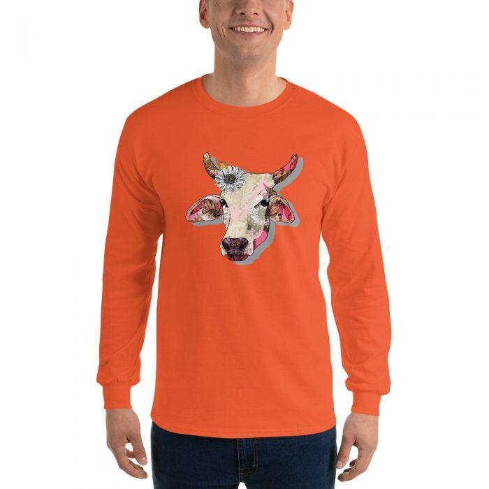 Hippie Cow Long Sleeve T-Shirt