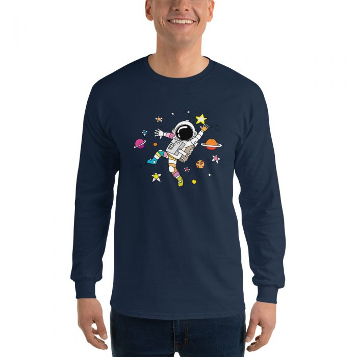 Dancing Astronaut Long Sleeve T-Shirt