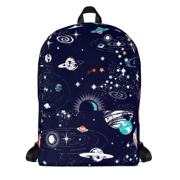 Space Pattern Backpack