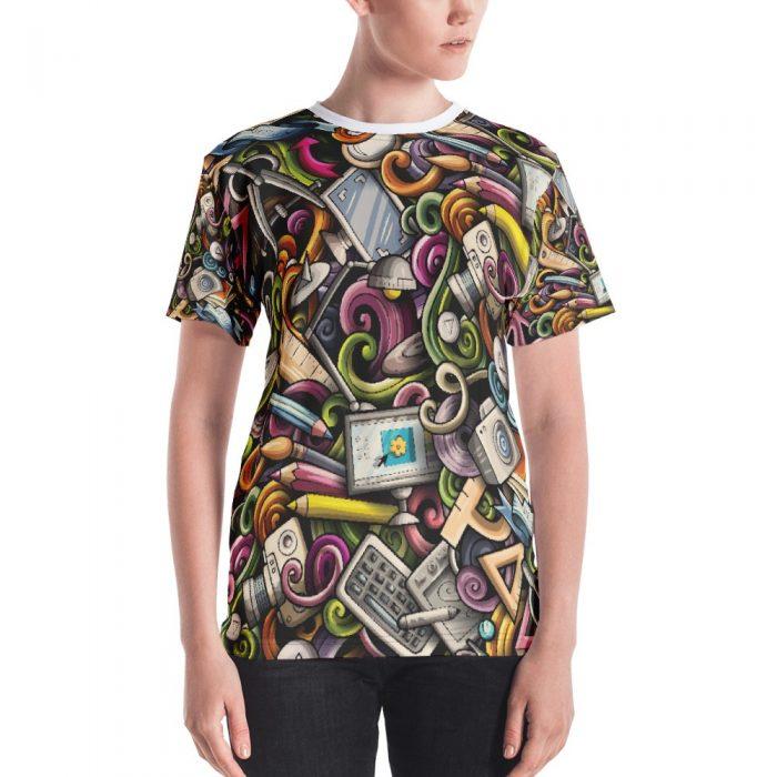 Designer Pattern Women's T-shirt