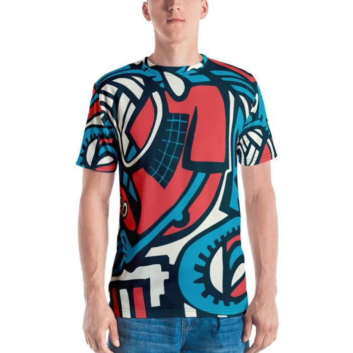 Abstract Pattern Men's T-shirt