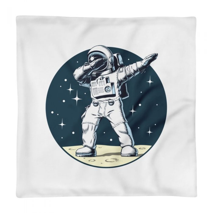 Dancing Astronaut Pillow Case only