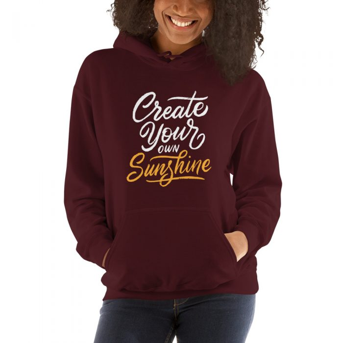 Create Your Own Sunshine Hooded Sweatshirt