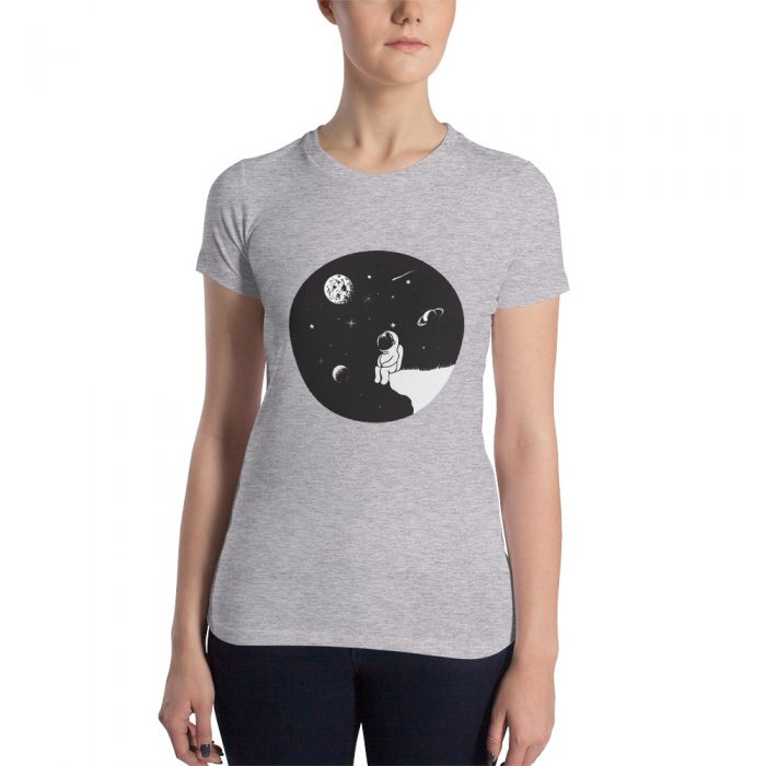 Bored Astronaut Women's Slim Fit T-Shirt