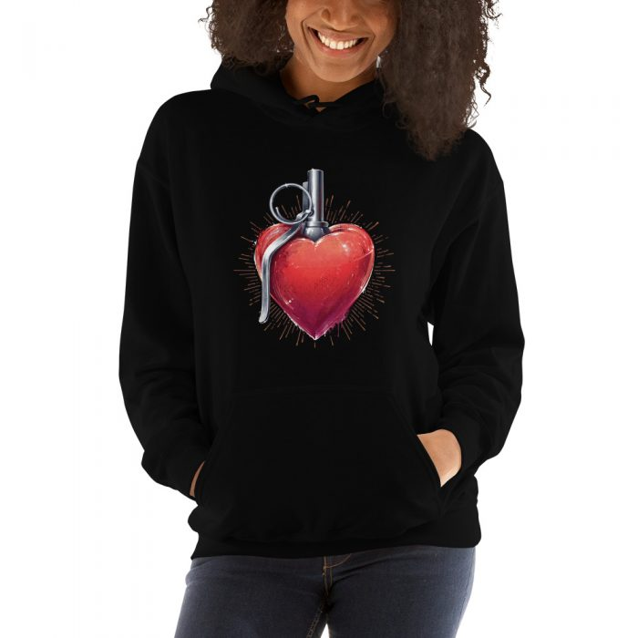 Explosive Heart Hooded Sweatshirt