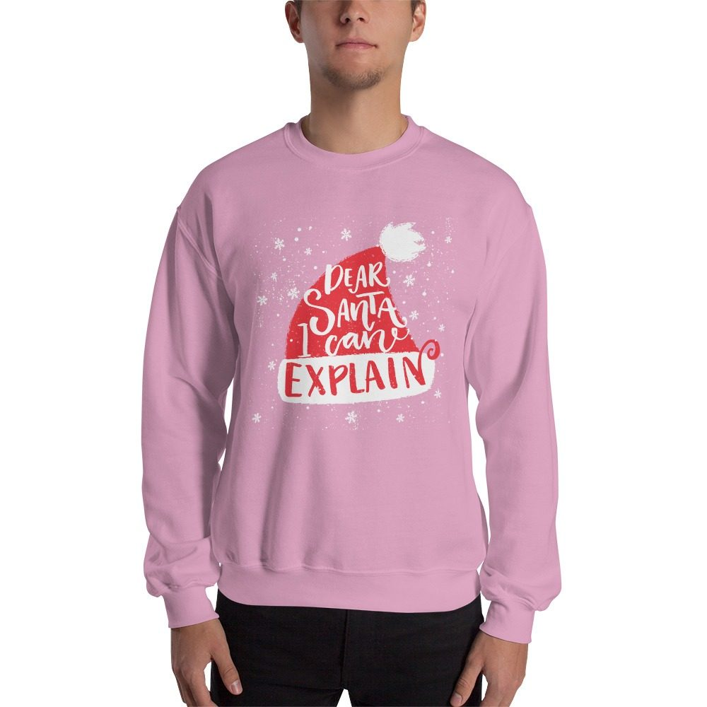Dear Santa Christmas Sweatshirt