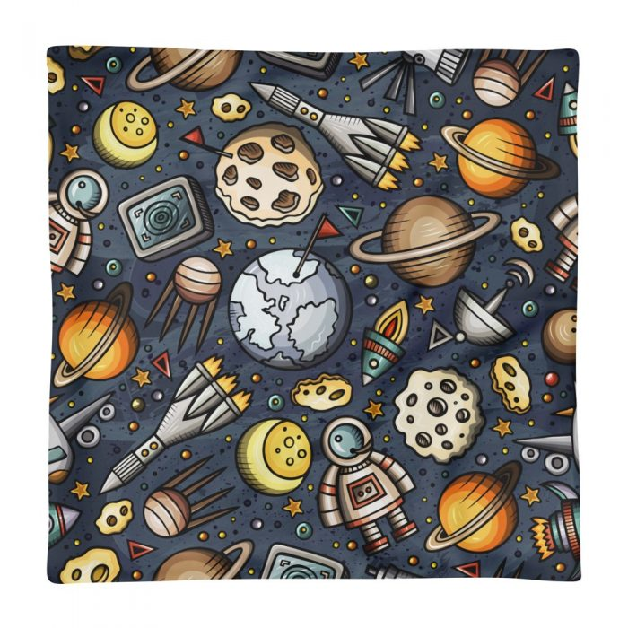 Space Pattern Pillow Case only