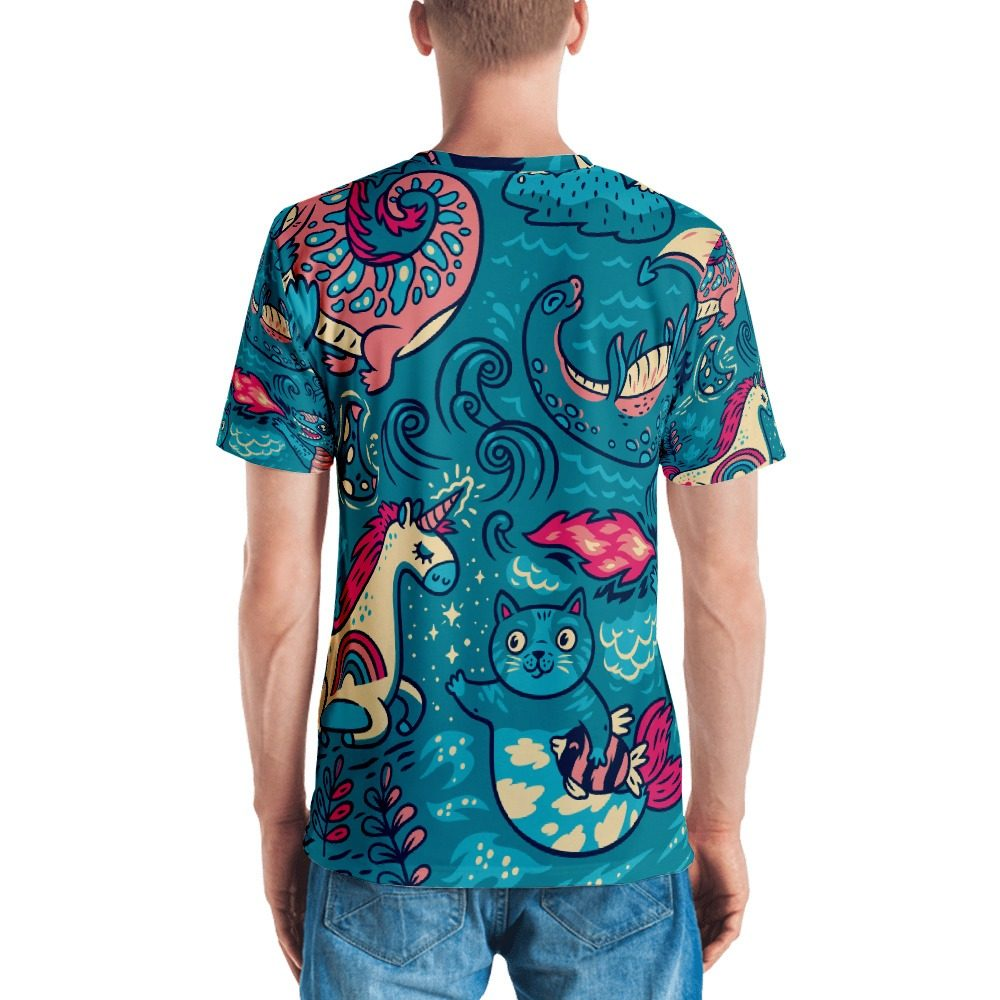 Magic Background Men's T-shirt