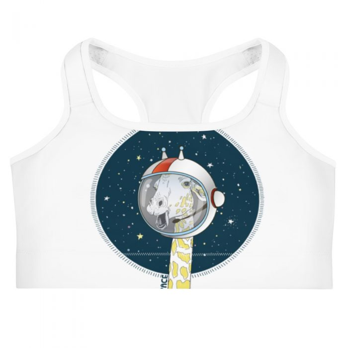Space Giraffe Sports bra