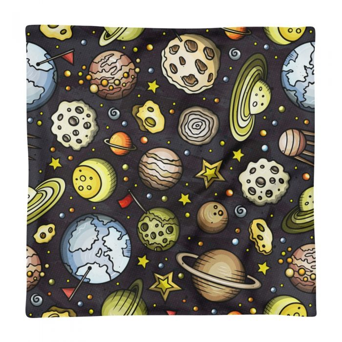Planets Pattern Pillow Case only