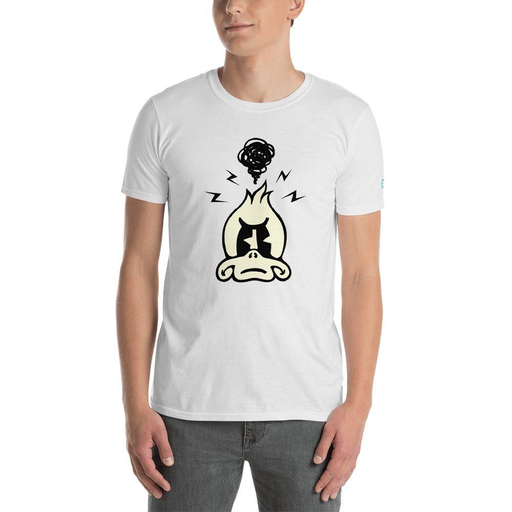 Vintage Cartoon Duck Short-Sleeve Unisex T-Shirt