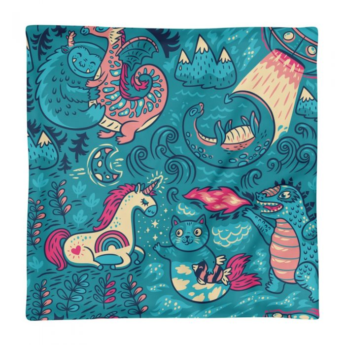 Magic Background Pillow Case only