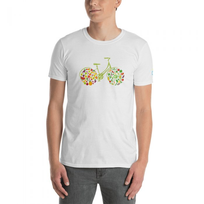 Fruit Bicycle Short-Sleeve Unisex T-Shirt
