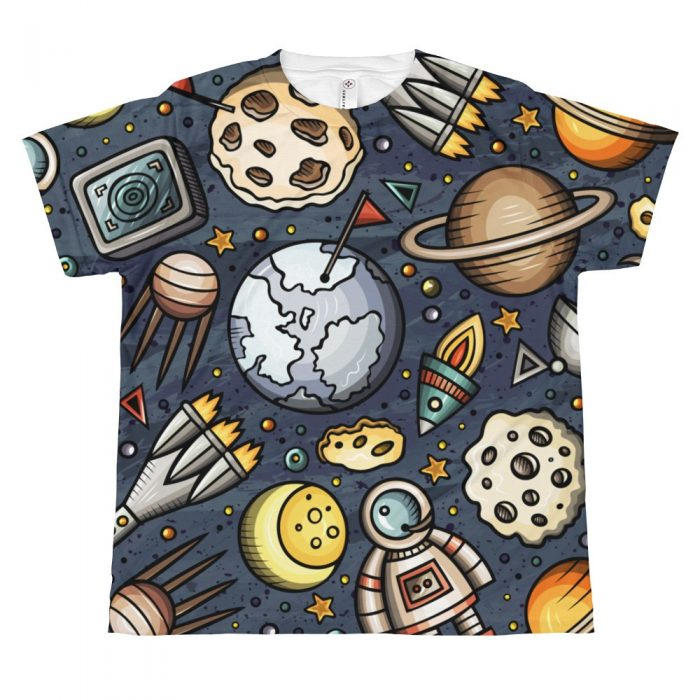 Space Pattern T-shirt