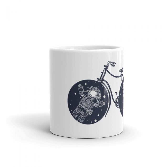 Space Bicycle Mug