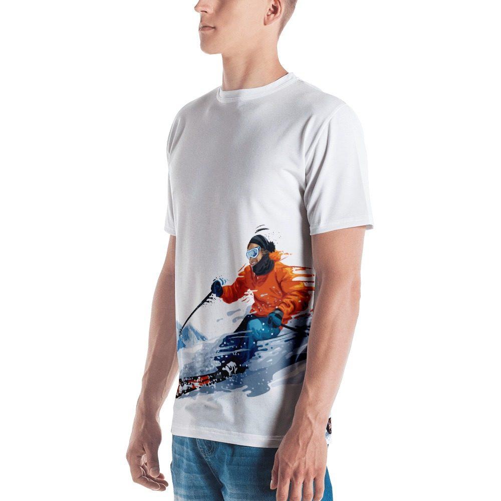 Skier Men's T-shirt